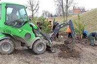 Высадка деревьев в Мясново, 4 апреля 2014 г., Фото: 5