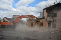 Снос аварийного дома на улице Октябрьской, Фото: 8
