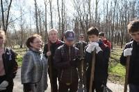 Посадка деревьев в Комсомольском парке, Фото: 8