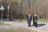 Визит губернатора в Центральный парк, Фото: 11