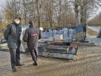 В Туле входы в храмы и на кладбища перекрыты полицией, Фото: 9