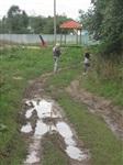 Разбитая дорога в деревне Морозовка , Фото: 2