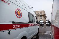 Алексей Дюмин передал региональному Центру медицины катастроф 39 новых автомобилей, Фото: 1