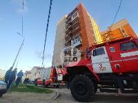 Пожар в общежитии на ул. Фучика, Фото: 8