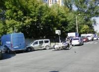 На улице Оборонной в Туле сбили мотокилиста, Фото: 2