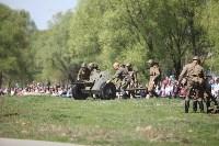 Реконструкция боевых действий. Центральный парк. 9 мая 2015 года, Фото: 38