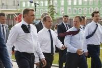 Дмитрий Медведев посетил Тулу с рабочим визитом, Фото: 4
