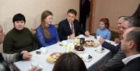 Губернатор Владимир Груздев вручил ключи от квартир новоселам в Узловском районе, Фото: 12