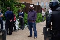 В Плеханово начали сносить дома в цыганском таборе, Фото: 57