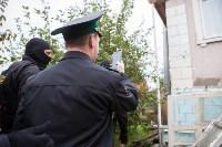 Группа быстрого реагирования УФССП помогла повторно за долги отключить тулячке газ, Фото: 19