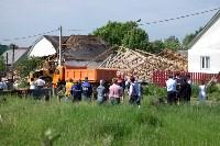В Плеханово начали сносить дома в цыганском таборе, Фото: 96