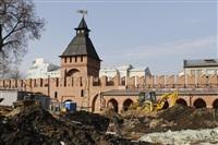 Реконструкция Тульского кремля. 11 марта 2014, Фото: 1