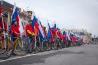 Велопробег в цветах российского флага, Фото: 20