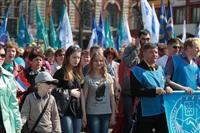 Тульская Федерация профсоюзов провела митинг и первомайское шествие. 1.05.2014, Фото: 19
