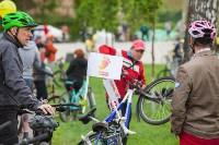 В Туле прошел большой велопарад, Фото: 145