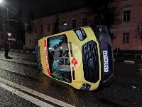 ДТП с автомобилем реанимации в центре Тулы, Фото: 10