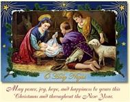 Старинные рождественские открытки, Фото: 6