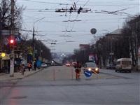 Порыв водопровода на пр. Ленина 4 апреля 2014, Фото: 9