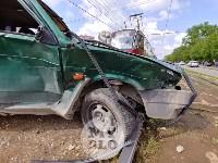 Серьезное ДТП на Зеленстрое: водитель «девятки» от удара вылетел из машины, Фото: 17