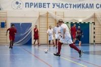 Мэр Тулы Юрий Цкипури и команда ветеранов «Фаворит» сыграли в футбол с волонтерами, Фото: 40