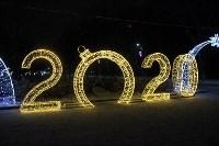 Тульские парки украсили к Новому году, Фото: 11