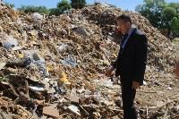 В Тульской области незаконно сжигали московский мусор, Фото: 13