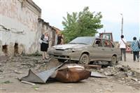 Последствия урагана в Ефремове., Фото: 5