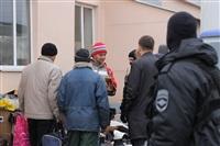 В ходе зачистки на Центральном рынке Тулы задержаны 350 человек, Фото: 8