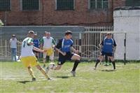 Тульские журналисты сыграли в футбол с зэками, Фото: 46