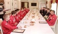 Встреча юных спортсменов с губернатором региона Владимиром Груздевым, Фото: 8