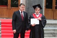 Владимир Груздев поздравил выпускников магистратуры ТулГУ, Фото: 46