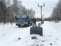 Реконструкция памятника на аллее Победителей, Фото: 1