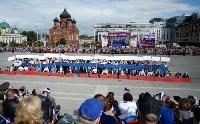 Развод караулов Президентского полка на площади Ленина. День России-2016, Фото: 19