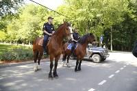 Конный патруль в Туле, Фото: 3