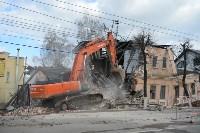 Снос аварийного дома на улице Октябрьской, Фото: 20