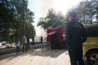 На стройке на улице Фрунзе сгорели вагончики рабочих., Фото: 2