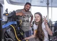 17-летняя тулячка на инвалидной коляске стала участником дайвинг-сафари в Египте, Фото: 7