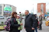Сергей Шестаков поздравляет тулячек с наступающим днем города, Фото: 8