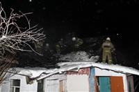 В пос. Менделеевский сгорел частный дом., Фото: 19