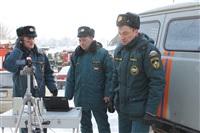 Пожар в жилом бараке, Щекино. 23 января 2014, Фото: 29