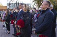 В Туле открыли памятник экипажу танка Т-34, Фото: 10