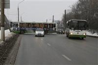 ДТП в Басово: столкнулись два рейсовых автобуса, Фото: 12