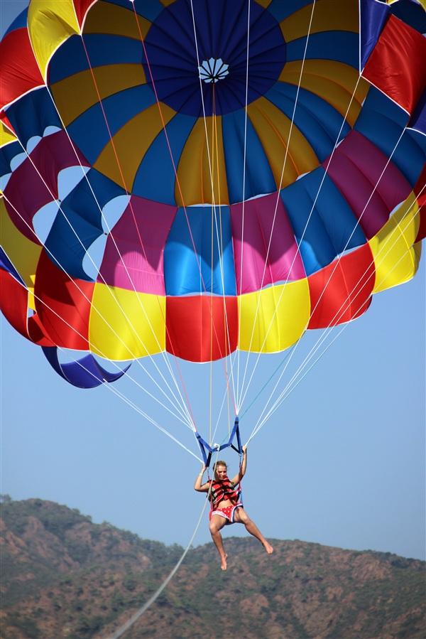 Незабываемый полёт с парашютом в Турции!