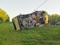 В Тульской области фура влетела в автобус: перекрыта трасса М-2, Фото: 12