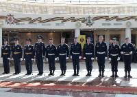 Церемония крепления Боевого знамени к древку, Фото: 1