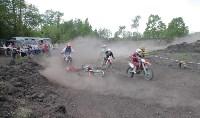 Юные мотоциклисты соревновались в мотокроссе в Новомосковске, Фото: 149
