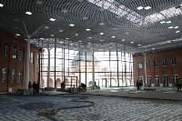 Владимир Груздев проинспектировал строительство выставочного комплекса в кремле. 12.10.2015, Фото: 4