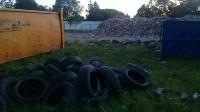 В Тульской области незаконно сжигали московский мусор, Фото: 1