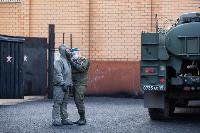 Экспресс-тест на covid-19, маски и социальная дистанция: В Туле первых призывников отправили в армию, Фото: 53