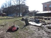 Сгоревшие сараи на улице Немцова в Туле, Фото: 8